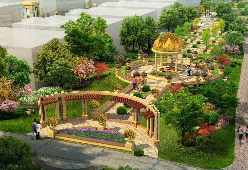 专业核心能力:环境景观园林设计与生态造景.